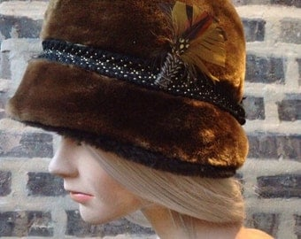 SOLD OUT! 50s\\Faux Fur Hat