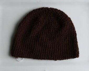 Beautiful Crocheted Alpaca Fiber Yarn Hat
