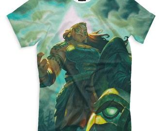 T-shirt fullprint League of Legends Illaoi