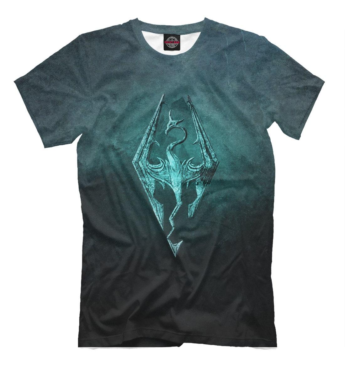 t shirt fullprint the elder scrolls skyrim