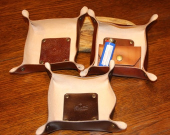 Leather ValetTray