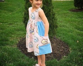 Princess Inspired Pink Pocket Dress!