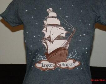 """Grateful Dead Shirt. """"Lost Sailor"""" Women's T-shirt Grateful dead lot shirt."""