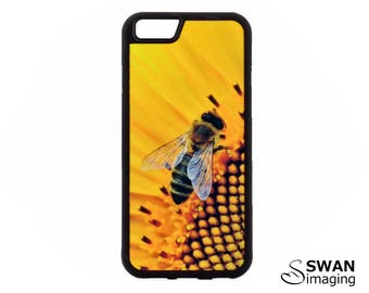 Bee Phone Case - TPU Phone Case - iPhone 8, 8 Plus, 5/5S, SE, 6/6S, 6/6S Plus, iPhone 7, 7 Plus + Samsung S5, S6, S7, S7 Edge, S8, S8 Plus