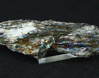 Sparkling Iridescent 'Rainbow' Hematite, Brazil.  Mineral Specimen for Sale