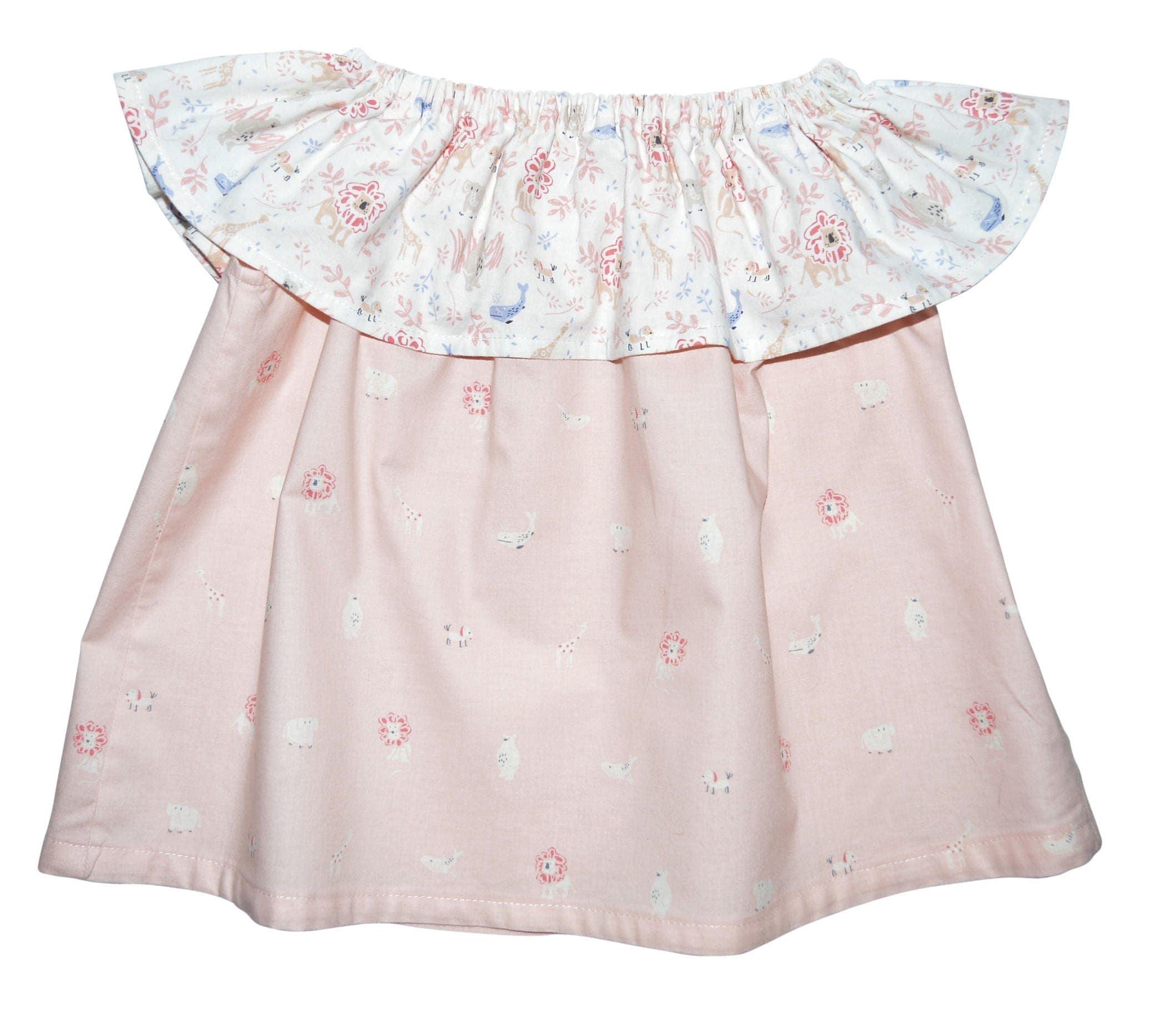 f the shoulder baby dress boho toddler dress boho girl dress