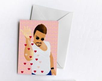 Heart Bae | Valentine's Card