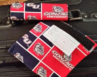Gonzaga Luggage IDwrap / Tag