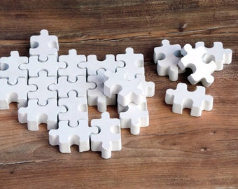 Concrete puzzles, Puzzles, Cement puzzle, Cement decor, Concrete decor, Beton, Small puzzle