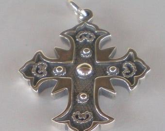 For Sale Byzantine Silver Cross - High Quality Item
