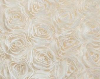 Lavish Custom Made Rosette / Roses Photo booth / Wedding / Party Backdrop
