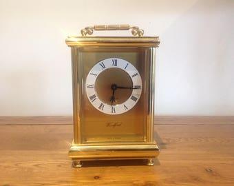 Vintage Westfield Brass Carriage Clock