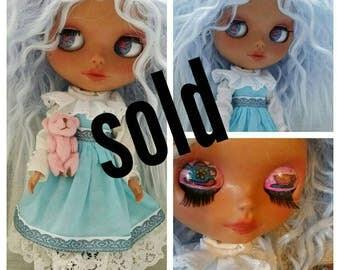 Custom blythe 'Alice in Wonderland' doll