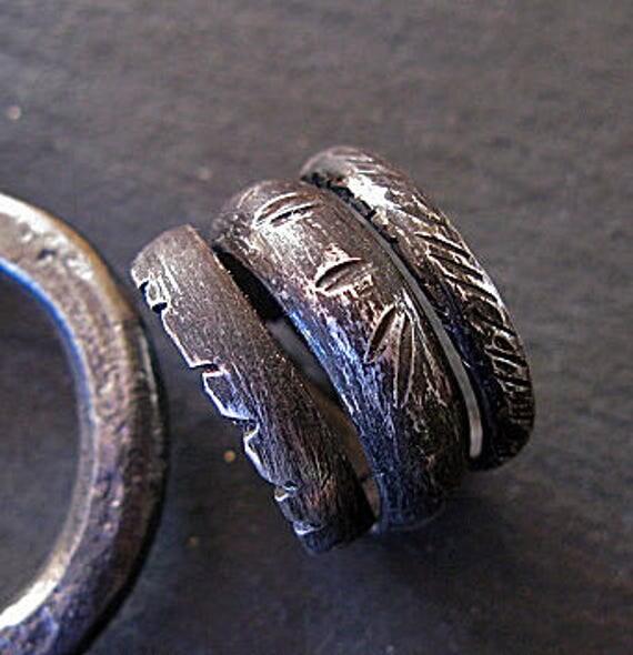 Viking Bands: Man Wedding Band Mens Wedding Band Viking Jewelry Viking