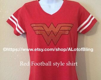 Wonder Woman Rhinestone T-Shirt