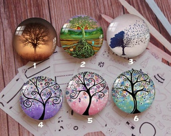 Handmade Round Photo glass Cabochons,8mm -58mm size Cute Animal Style Butterfly More-ZY880