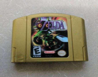 Legend of Zelda Majoras Mask Nintendo 64