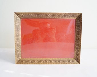 Brass Frame Photo Frame with Ornaments Picture Frame Decorative Frame made of Brass