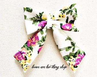 SPRING BLOOM sailor bow