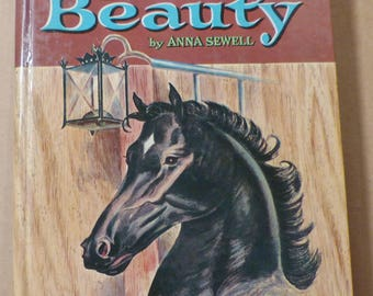 Black Beauty Anna Sewell Vintage book Antique book Collectible book 1950s book Classic story Horse story Animal story Children's story