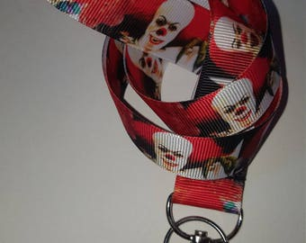 Lanyard Inspried by Pennywise from Stephen King's 'IT'