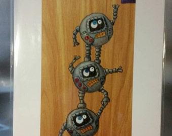 Robot Teamwork: Oil