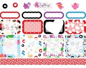 Down the Rabbit Hole Vertical & Horizontal Planner Stickers for ECLP, Kikki.K, Filofax, Happy Planner etc.