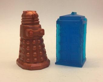 Dr. Who Tardis and Dalek Soaps