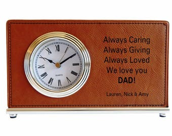 Dad Gift from his children, Gift to our dear Father, Dad Appreciation Gift, Thank You Dad Custom Keepsake Gift, Fathers Day Gift, LCD072