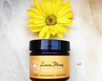 Lemon Honey Facial Scrub