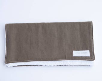 Burp Cloth - Khaki