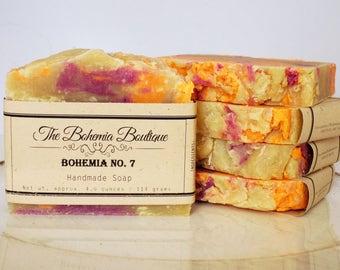 Bohemia No. 7 -  Handmade - Hot Process Soap