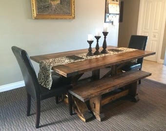Brilliant Farmhouse Dining Room Tables In Design Decorating