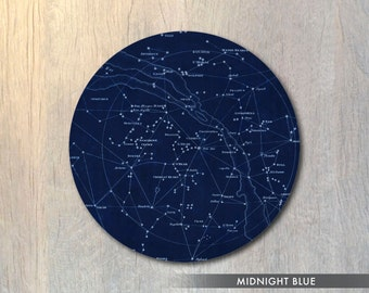 Constellations Stars Mouse Pad - Astronomy Mouse Pad Celestial Space Computer or Office Work Station Decor