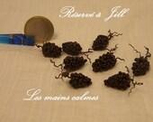 8 grappes de raisin 10ème et 12 ème