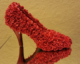 Elegant shoe Center piece