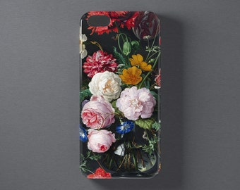 Rose phone case, rose iPhone 6 case, floral iPhone case Vintage Romantic, iPhone 5 5s 5c se, samsung galaxy s6 edge, galaxy s5 mini, s7 case