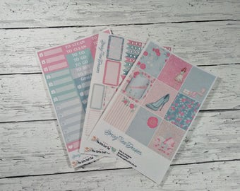 Planner Stickers-Springtime Dreams Mini Kit