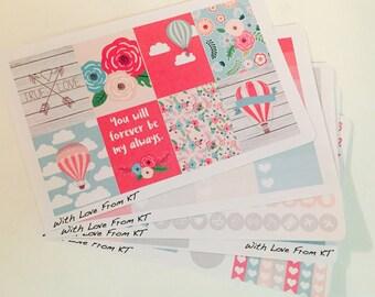 Forever My Always Full Week Planner Sticker Kit