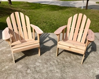 Handcrafted Adirondack Chair