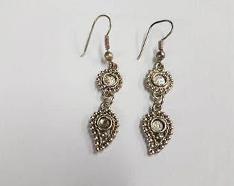 earring silver tone