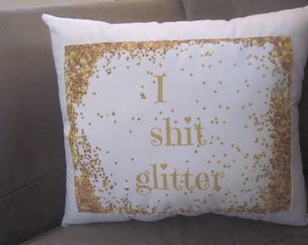funny pillows glitter home decor pillow adult humor gag jokes gifts silly words quotes on pillows