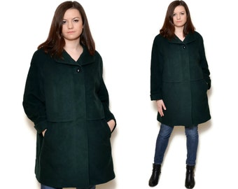 wool coat cashmere long sleeve winter coat boho outerwear womens coats short cashmere coat wool jacket winter jacket