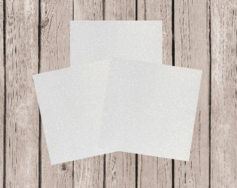 12x12 Glitter Card Stock, 12x12 Glitter Paper, White Glitter Paper, White Glitter Card Stock, DIY Projects, DIY Invitation