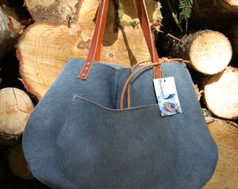 Handmade bags in 100% cowskin made with love