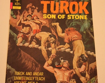 Vintage /Gold Key/Comic Book/Turok Son Of Stone/