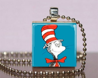 Dr seuss etsy for Cat in the hat jewelry