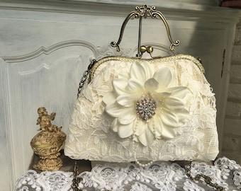 Bridal bags, hanger bag, evening bag, bag