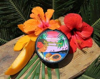 Papaya Enzyme Exfoliating Tropical Face Mask - 100% natural ingredients free of chemical, vegan friendly, real Papaya aroma