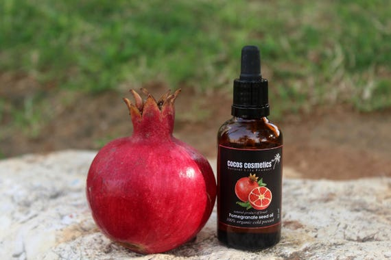 Pomegranate seed oil - Pure and organic unrefined pomegranate seed oil cold pressed